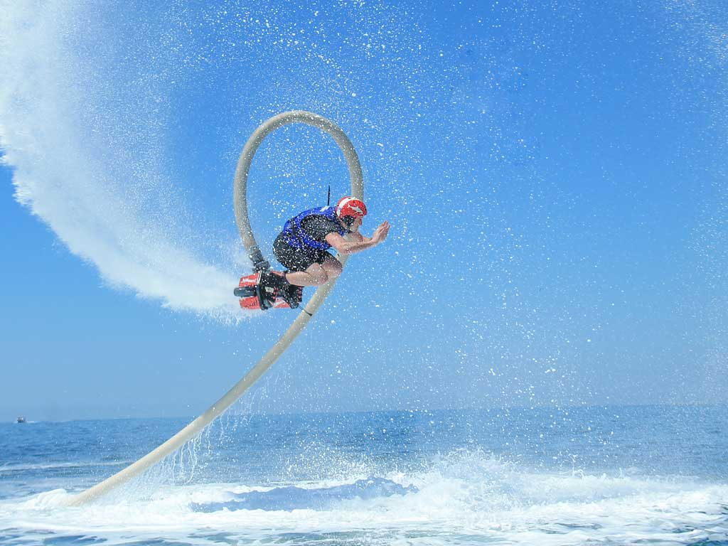 reviews FlyBoard en Los Cabos