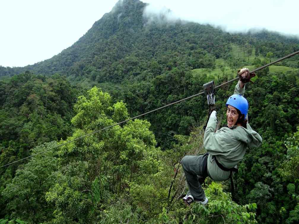 Tour de Extreme Canopy y Rafting