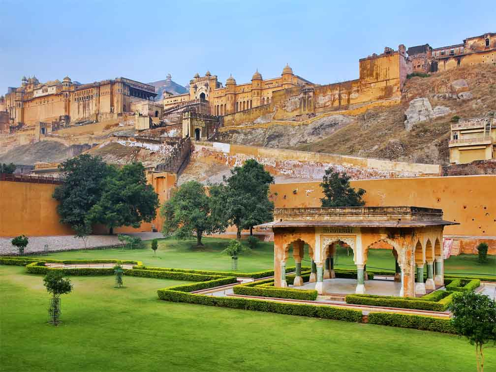 Tour a pie por Jaipur