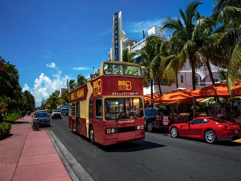 Autobús Turístico Big Bus Miami