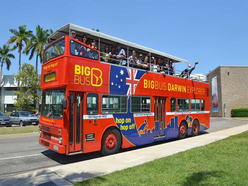 reviews Autobús Turístico Big Bus Darwin