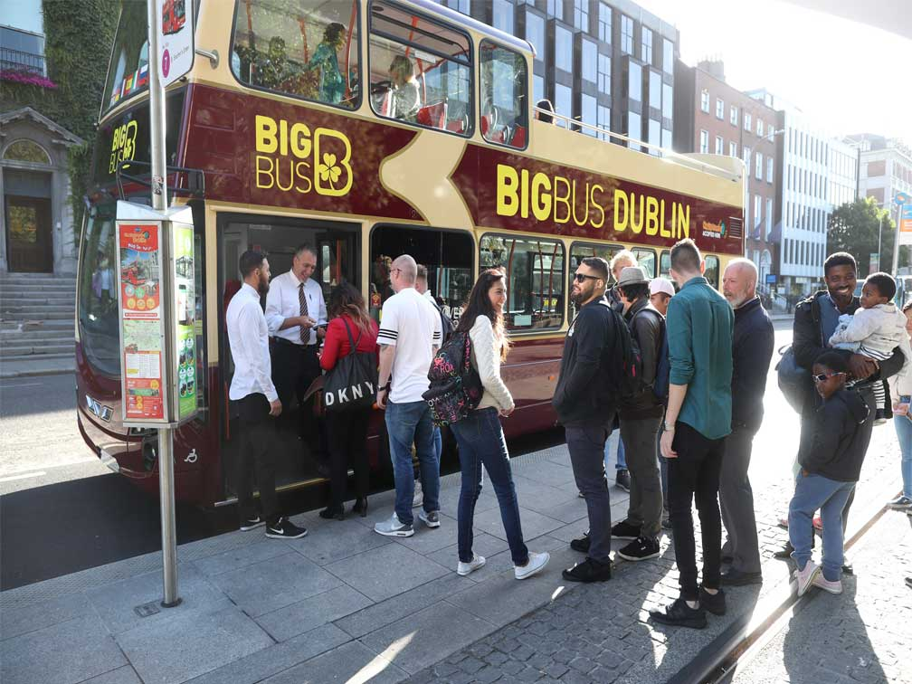 Sightseeing Bus Dublín