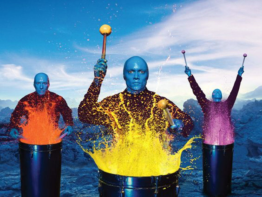 Entrada Blue Man Group Las Vegas