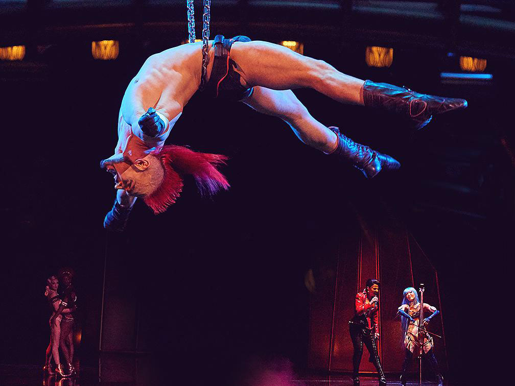 reviews Tickets Zumanity show Cirque du Soleil Las Vegas