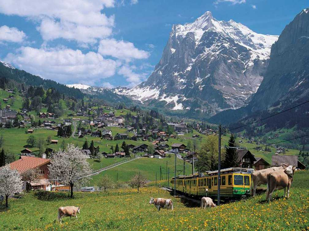 Tour Grindelwald e Interlaken