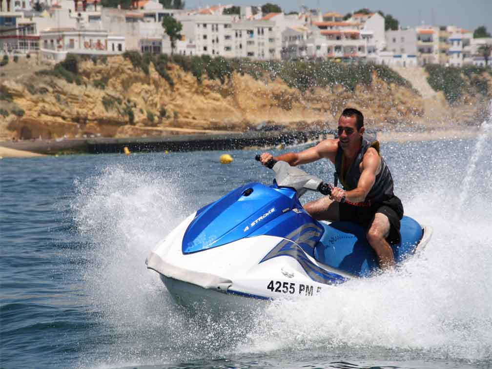 reviews Ruta en motos de agua en Albufeira