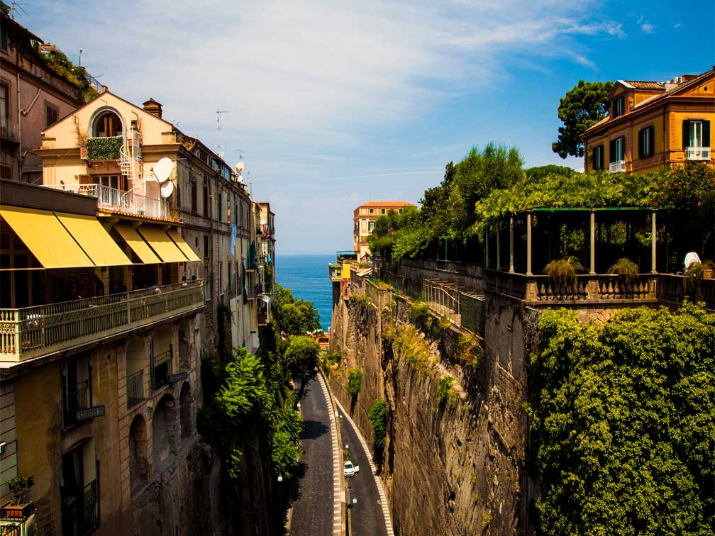 Excursion a Sorrento, Amalfitana y Positano