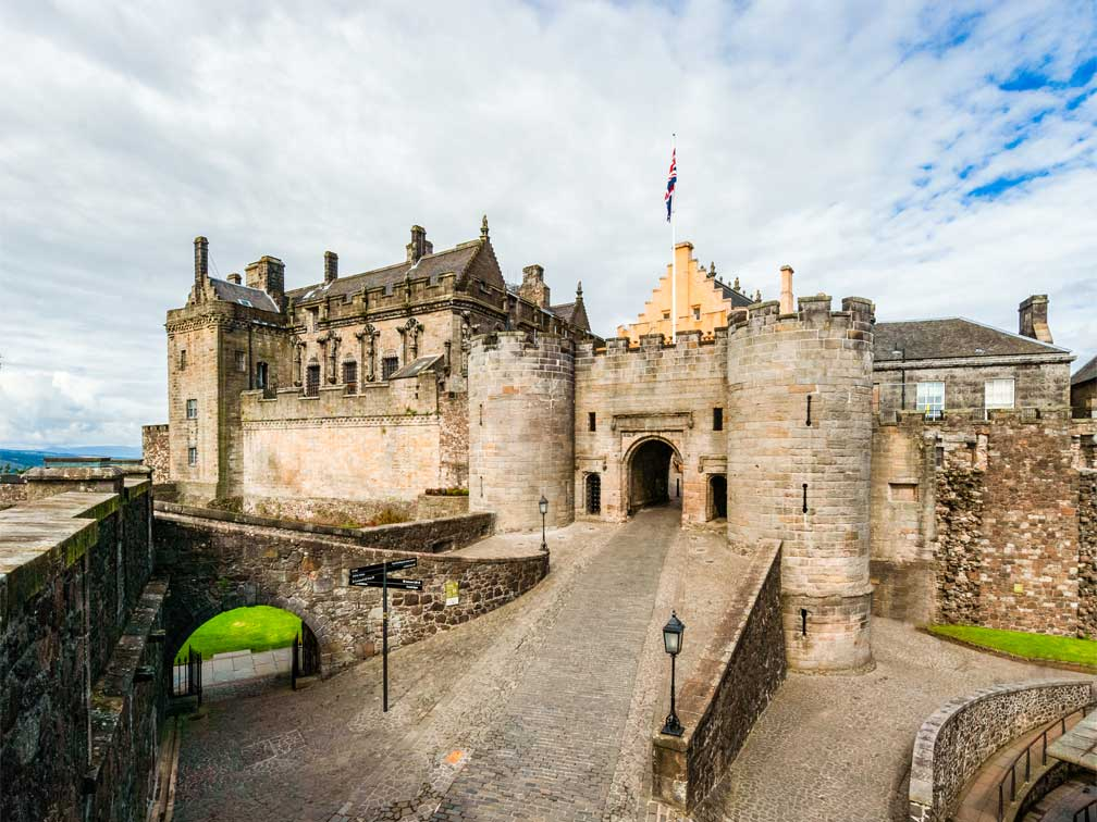 Tour a Stirling, Saint Andrews y Destilería