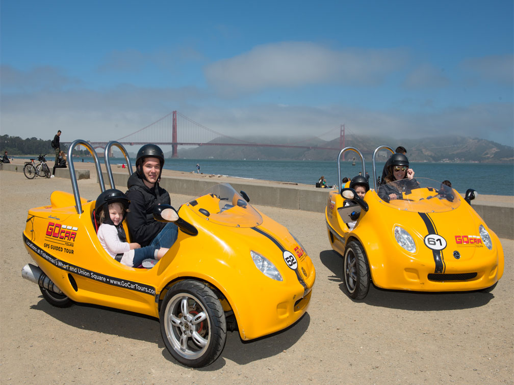 Tour Golden Gate en GoCar
