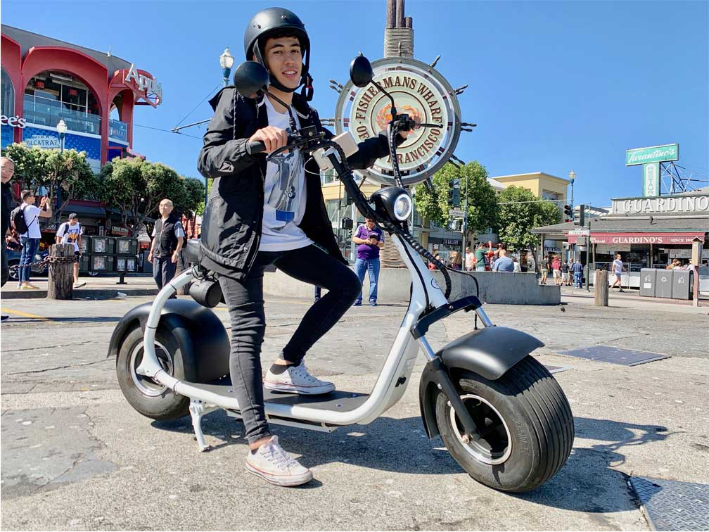 reviews Golden Gate Tour en Scooter