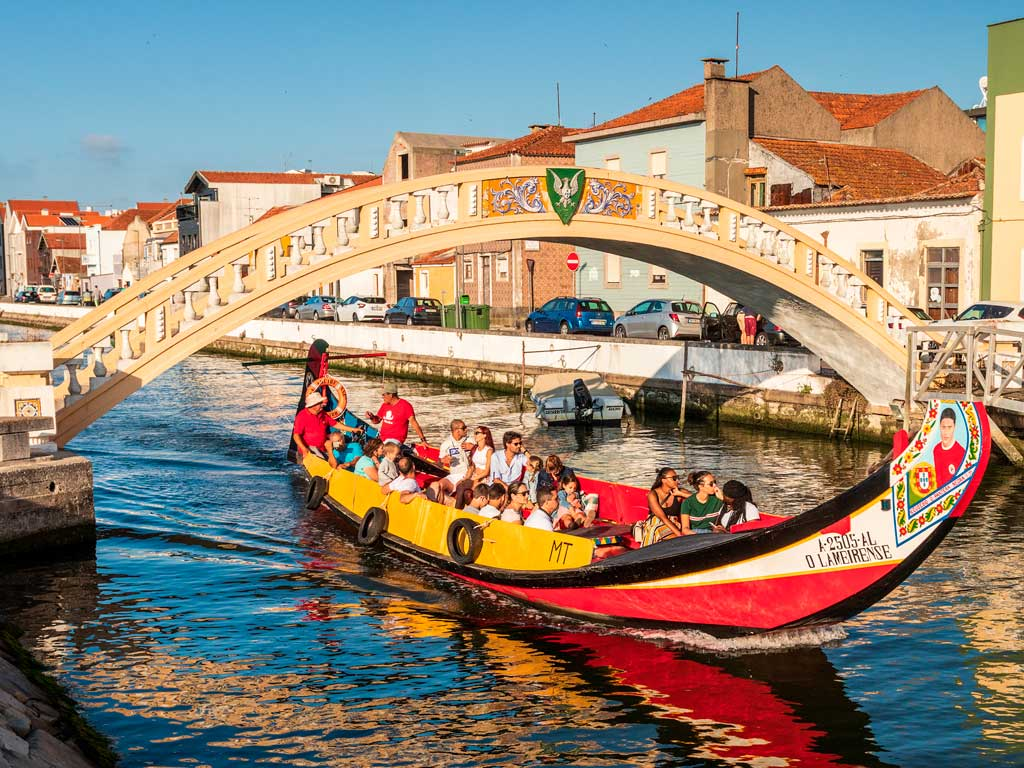 Aveiro y Costa Nova Tour Privado