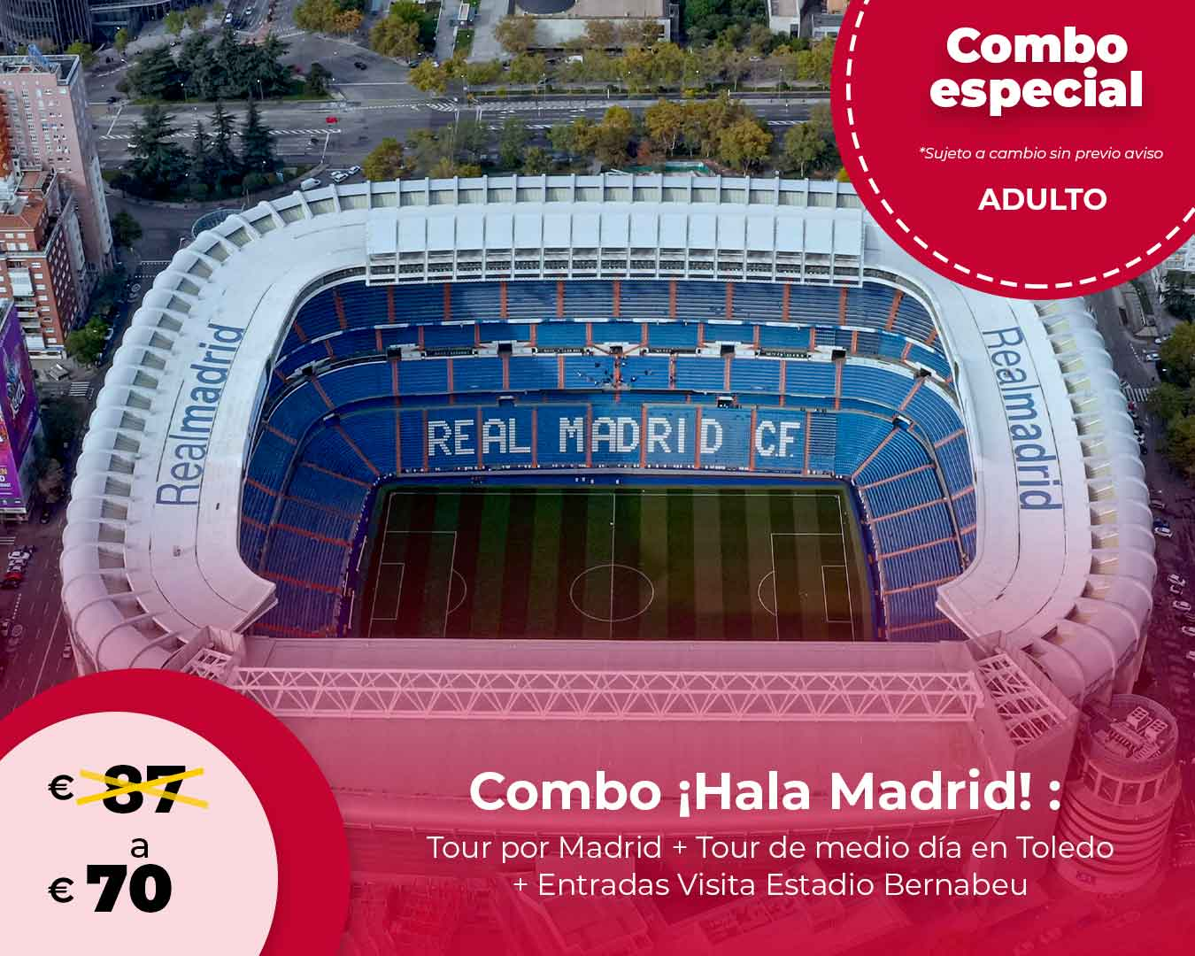 Combo ¡Hala Madrid!
