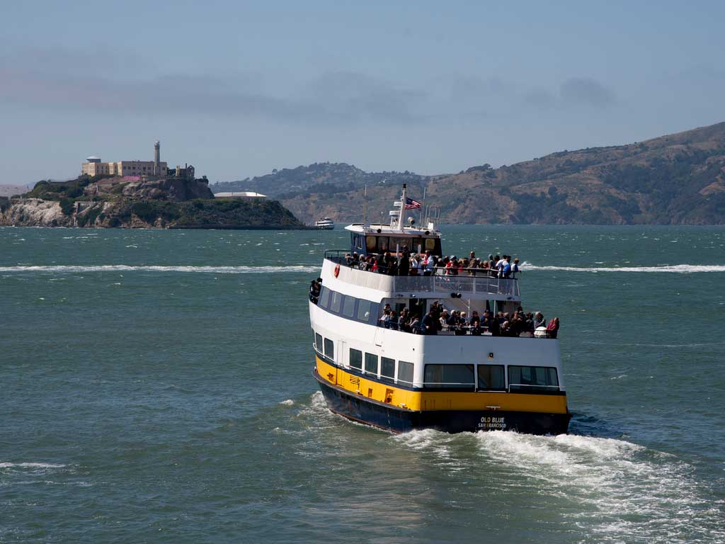 Ticket ferry a Angel Island