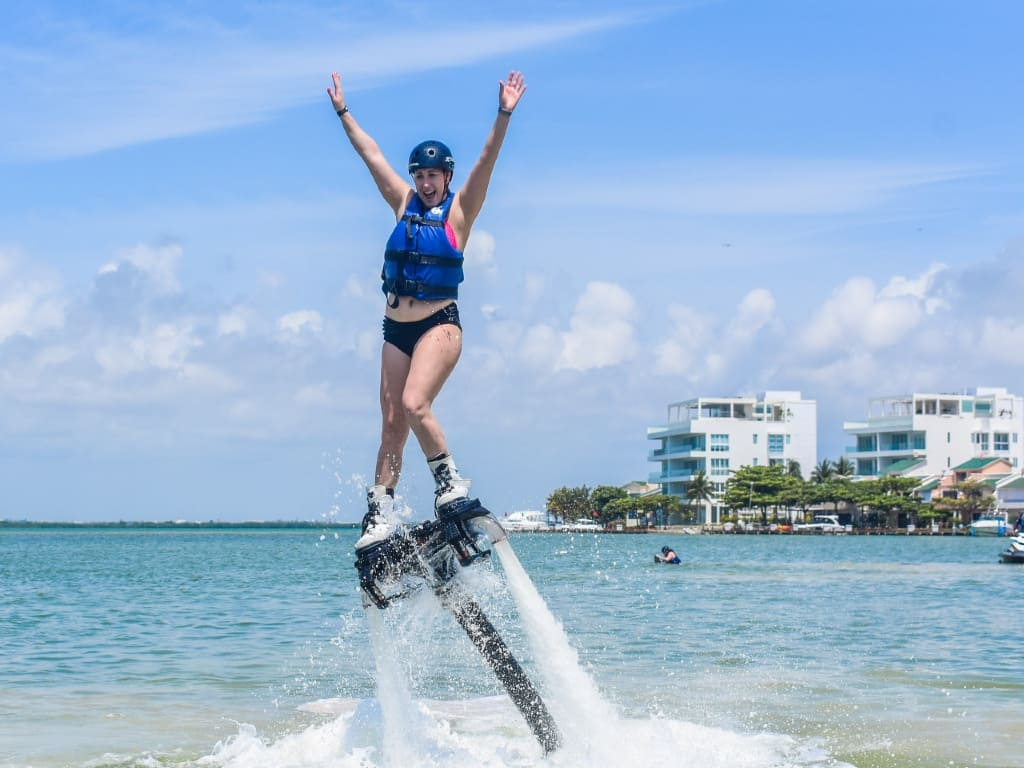 reviews Flyboard en Cancún
