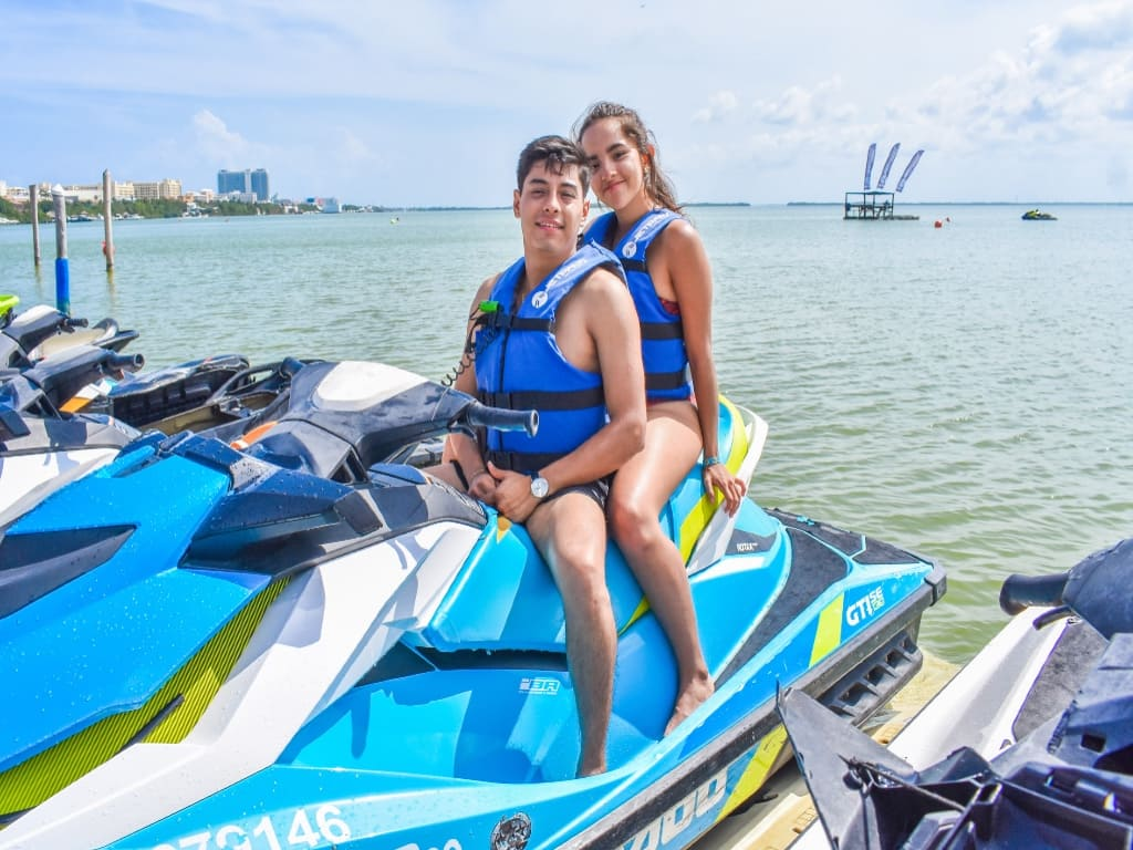Waverunner en Cancún